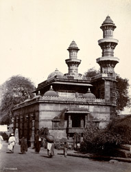 Rear view of Muhafiz Khan's Mosque, from the south-west, Ahmadabad